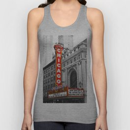 Chicago Theater Unisex Tank Top
