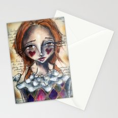 Harley Q Stationery Cards