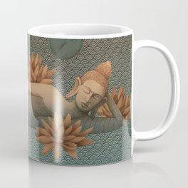 sleeping Buddha with lotus 2 Coffee Mug
