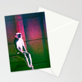 Rainbow Monkey  Stationery Cards