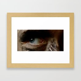 Mine Eye Framed Art Print