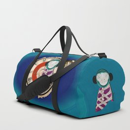 Time Monkey Duffle Bag