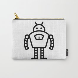Tough Robot Icon Carry-All Pouch