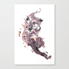 Luckless (Lavender) Canvas Print