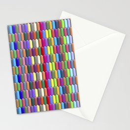 Colorful jewels Stationery Cards