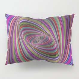 Psychedelic colors Pillow Sham