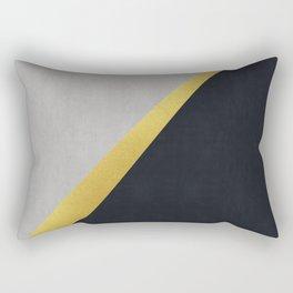 Fashion and golden art I Rectangular Pillow