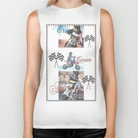 moto Biker Tanks featuring Moto Kids by Connie Campbell