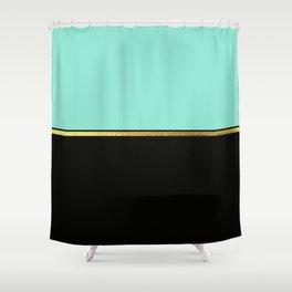 Spring Minimalist Shower Curtain