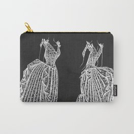 1887 Lady's Dress Patent Print Carry-All Pouch