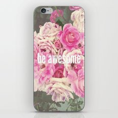 be awesome iPhone & iPod Skin