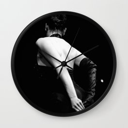 Burlesque Degloving De-Lovely Wall Clock