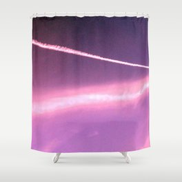 Blotchiness in sky Shower Curtain