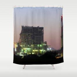 Power Station Lights Shower Curtain