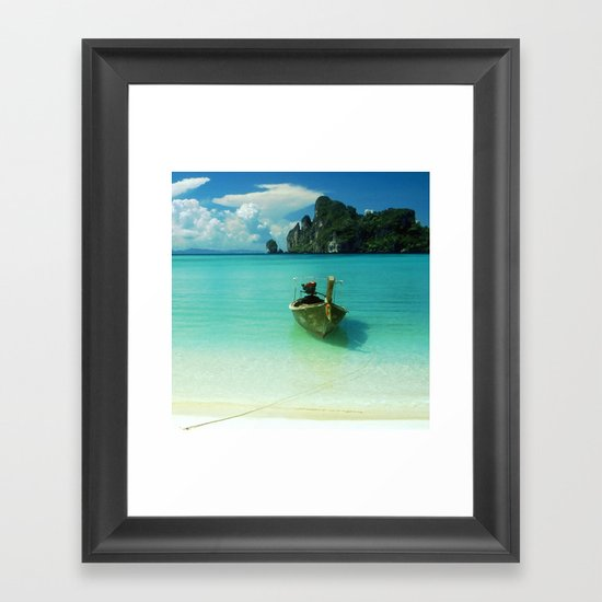 Paradise Found Framed Art Print