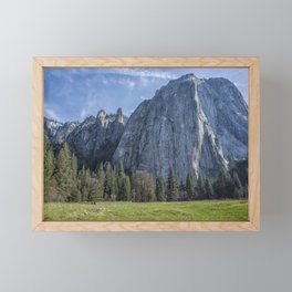 Cathedral Rock and Spires Framed Mini Art Print