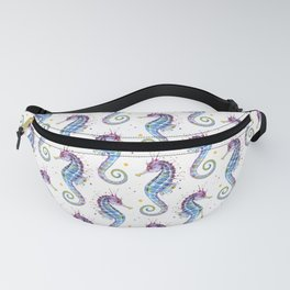 Seahorse: Purple Fanny Pack