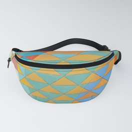 Triangle Pattern No. 11 Circles Fanny Pack