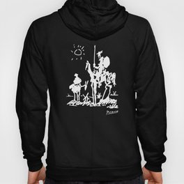 Pablo Picasso Don Quixote 1955 Artwork Shirt, Reproduction Hoody