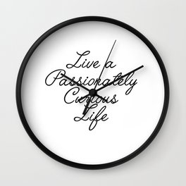 passionately curious Wall Clock