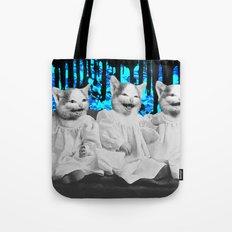 Triple Trouble Tote Bag