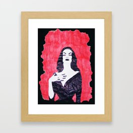 Mortisia Framed Art Print
