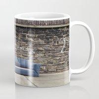 sofa Mugs featuring sofa free by danielle marie