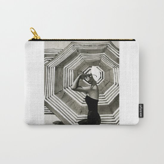 girl on the beach Carry-All Pouch