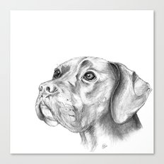 Bella :: By Definition, Beautiful Canvas Print