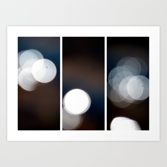 Dazed and Confused - Triptych Art Print