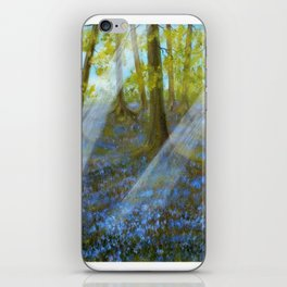 Bluebell Wood iPhone Skin