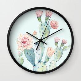 Cactus 2 #society6 #buyart Wall Clock