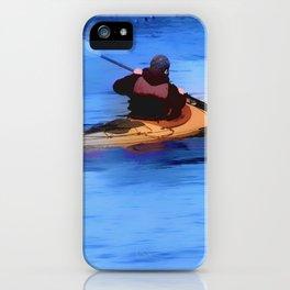 The Explorer    -   Kayaker iPhone Case