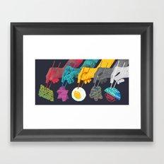 Top Ramen Framed Art Print