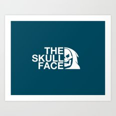 The Skull Face Art Print