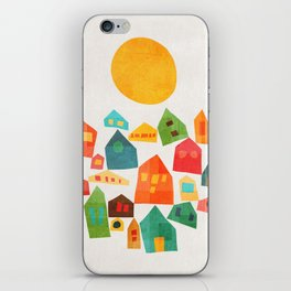 Looking at the same sun iPhone Skin