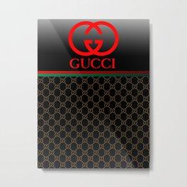 Guci black Metal Print