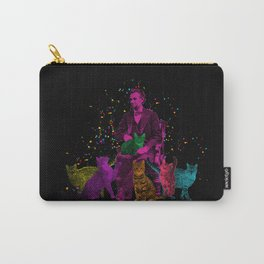 Preposterous Presidents - Lincoln - Rainbow Cat Party Carry-All Pouch