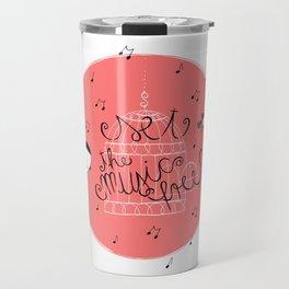 Set the music free Travel Mug