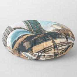 Architecture mirror art Floor Pillow