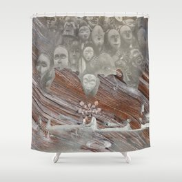 Sacred maidens Shower Curtain
