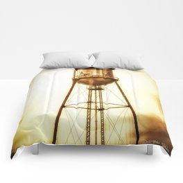Texas Water Tower Comforters