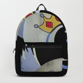 Queen Album Cover Concept Art A Day At the Races Backpack