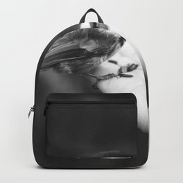 Bird Hand (Black and White) Backpack