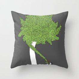The Taking Tree Throw Pillow