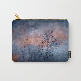 Flocking Blackbirds Carry-All Pouch