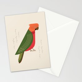 Australian King Parrot, Bird of Australia Stationery Cards