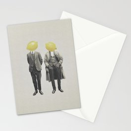 Lemon Mugshot Stationery Cards