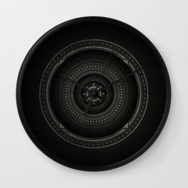 Inner Space 3 Wall Clock