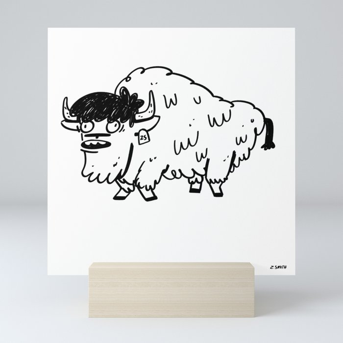 BUFFALO Mini Art Print